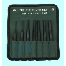 Набор бородков цилиндрических из  8-ми шт. от 2 до 10мм, тип 2 в сумке