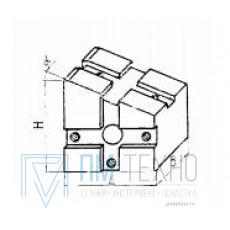 Опора угловая 30х30х34  5° под паз 8мм, облегченная (ДСПМ2-31) (восстановленная)