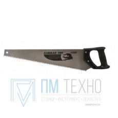 Ножовка 500мм прямой шаг 6мм с пластмассовой ручкой, скош. полотно