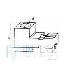 Планка  45х 30х 30 ступенчатая с установочным отверстием d 12мм, под паз 8мм (ДСПМ-2-43)