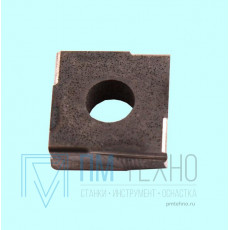 Пластина Квадратная 15 х 15 КНТ-16 (ЛЦК20) со стружколомом dвн=6мм