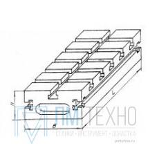 Плита Прямоугольная 240х120х60 с Т-образными пазами 12мм (ДСП-2) (восстановленная)
