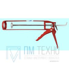 Пистолет для выдавливания герметика скелетный 230мм