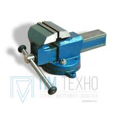 Тиски Слесарные 100 мм стальные поворотные ТСС-100 (Глазов)