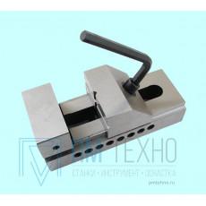 Тиски Станочные  26мм прециз-ые быстрозажимные сталь непов. ход 21мм // и перпенд. 0,005/100 HRС 58-62